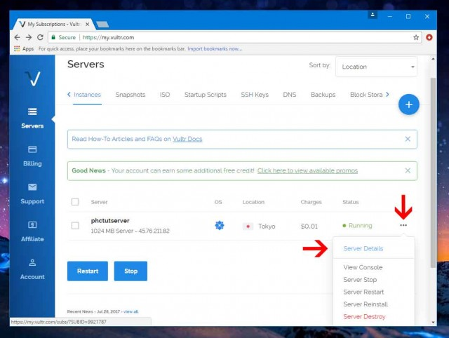 How to create your own VPS (Virtual Private Server)
