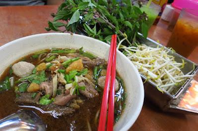 BeerThai House Restaurant, boat noodles