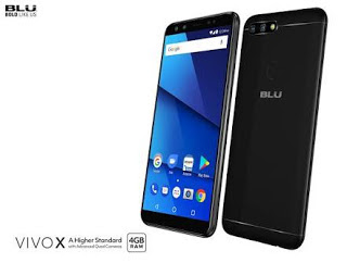 Specification and Price of BLU Vivo X With 4 Cameras, MTK Helio P25