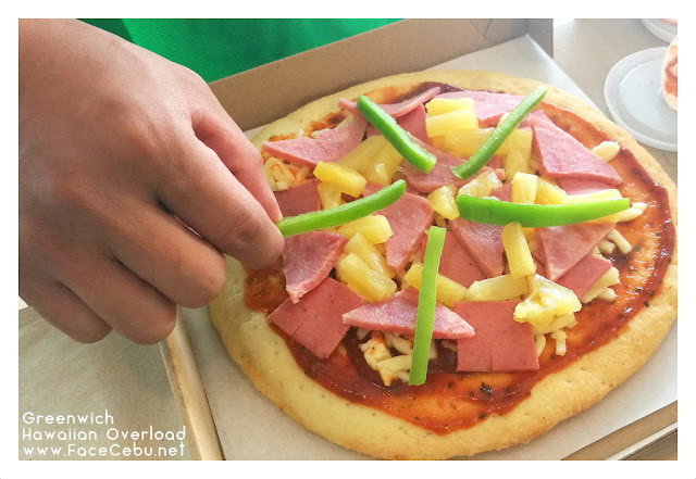 Toppings all ingredients For Make Your Own Hawaiian Pizza at Greenwich