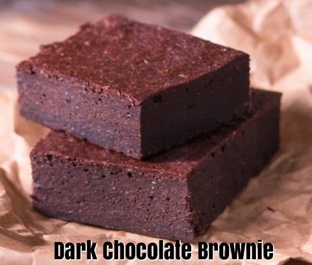 Dark Chocolate easy brownie recipe