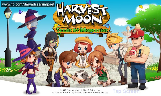Harvest Moon Seeds of Memories Android Game Review