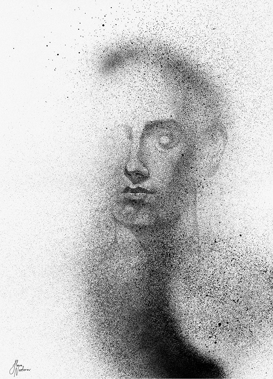 05-Black-Cloud-Portraits-Stippling-Drawings-and-Spray-Paint-www-designstack-co
