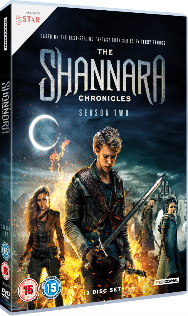 THE SHANNARA CHRONICLES season two dvd
