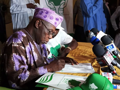 obasanjo join new political group