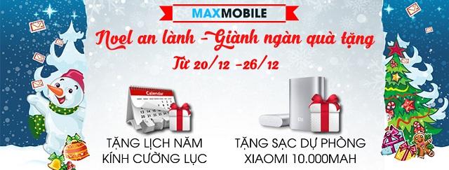 maxmobile special event noel an lanh gianh ngan qua tang 1