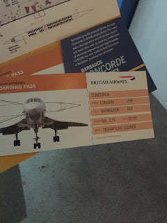 British Airways Concorde Tickets Grantley Adams Airport Barbados