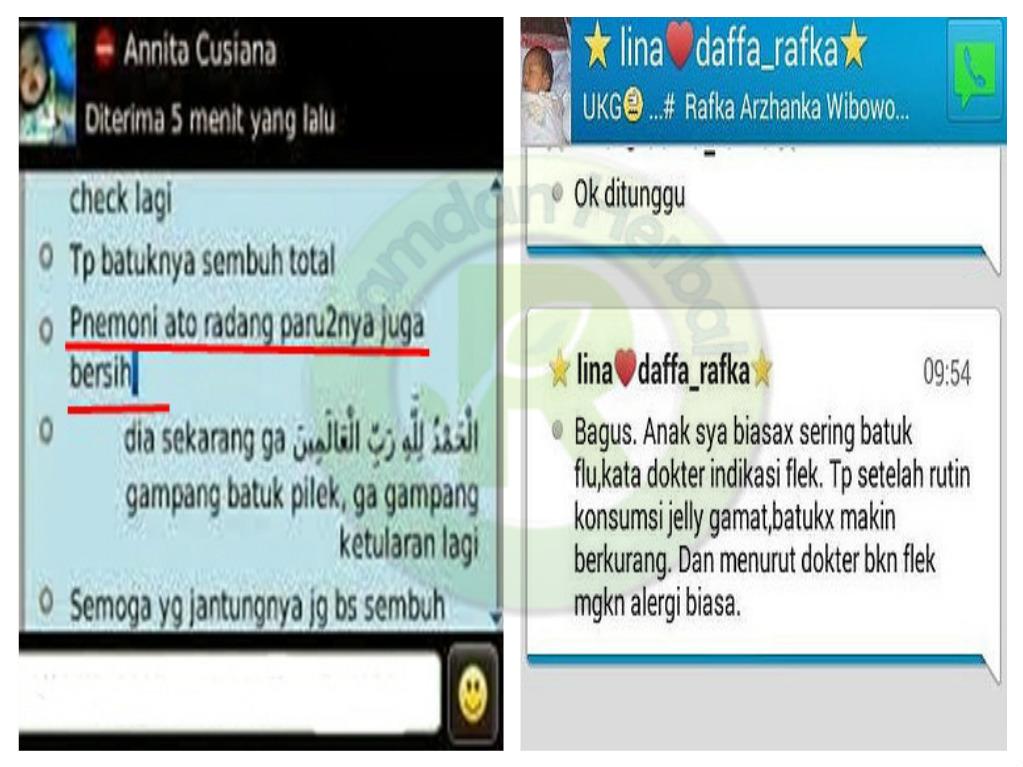 Testimoni Qnc Jelly Gamat Paru-Paru