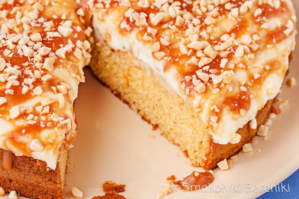 ciasto z masa fistaszkową