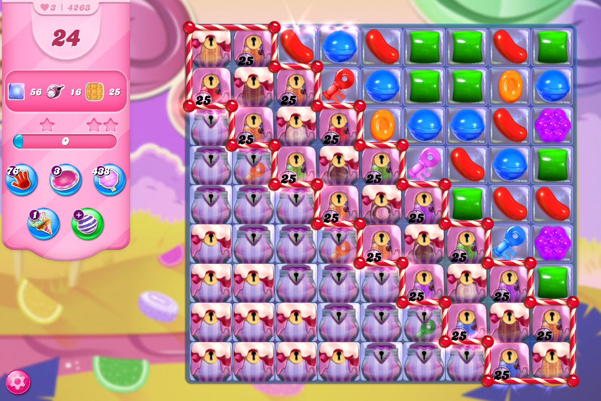 Candy Crush Saga level 4263