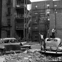 Chicago slum, 1954