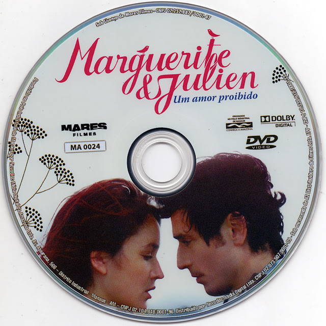 Label DVD Marguerite e Julien Um Amor Proibido (Oficial)