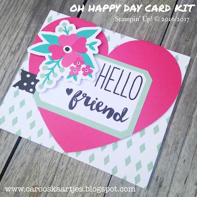 www.carooskaartjes.blogspot.com #stampinup #ohhappydaycardkit #ohhappyday #stempelen #stamping #kaartenmaken #carooskaartjes