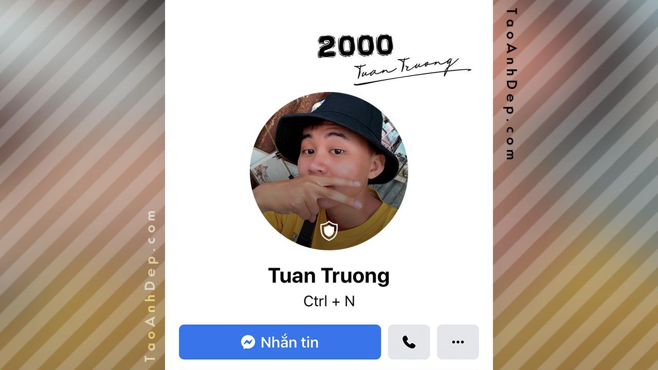 Tạo ảnh avatar facebook có khiên bảo vệ Online