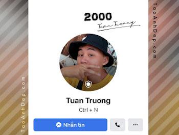 Tạo avatar có khiên bảo vệ facebook Online