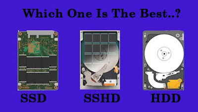 pengertian dan kelebihan kekurangan SSD SSHD HDD
