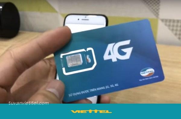 Cú pháp đổi sim 4G mạng Viettel không cần đến cửa hàng