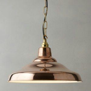 lampu hias gantung tembaga