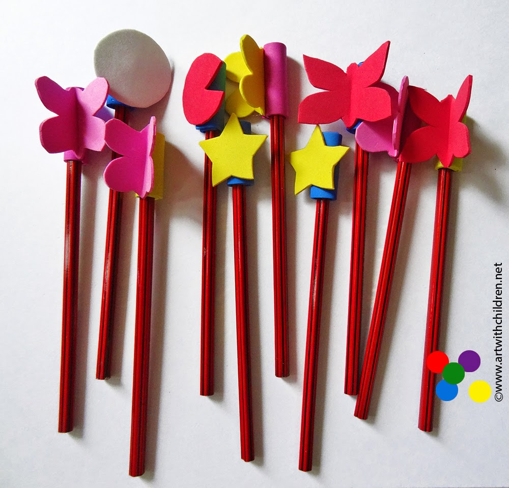 foam craft ideas for adults craft foam pencil toppers 6584
