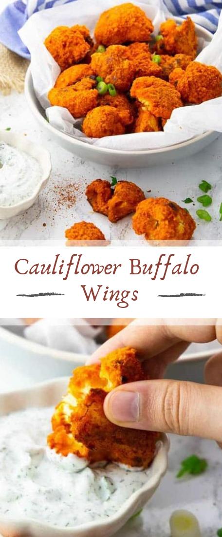 Cauliflower Buffalo Wings #healthyfood #dietketo