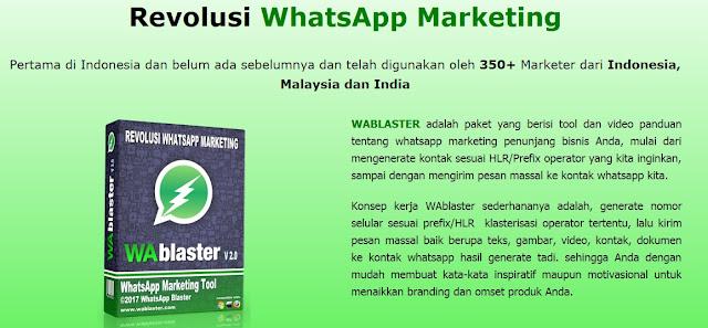 Whatsapp Blaster Pro Ledak Bisnis Anda Melalui Whatapp Marketing