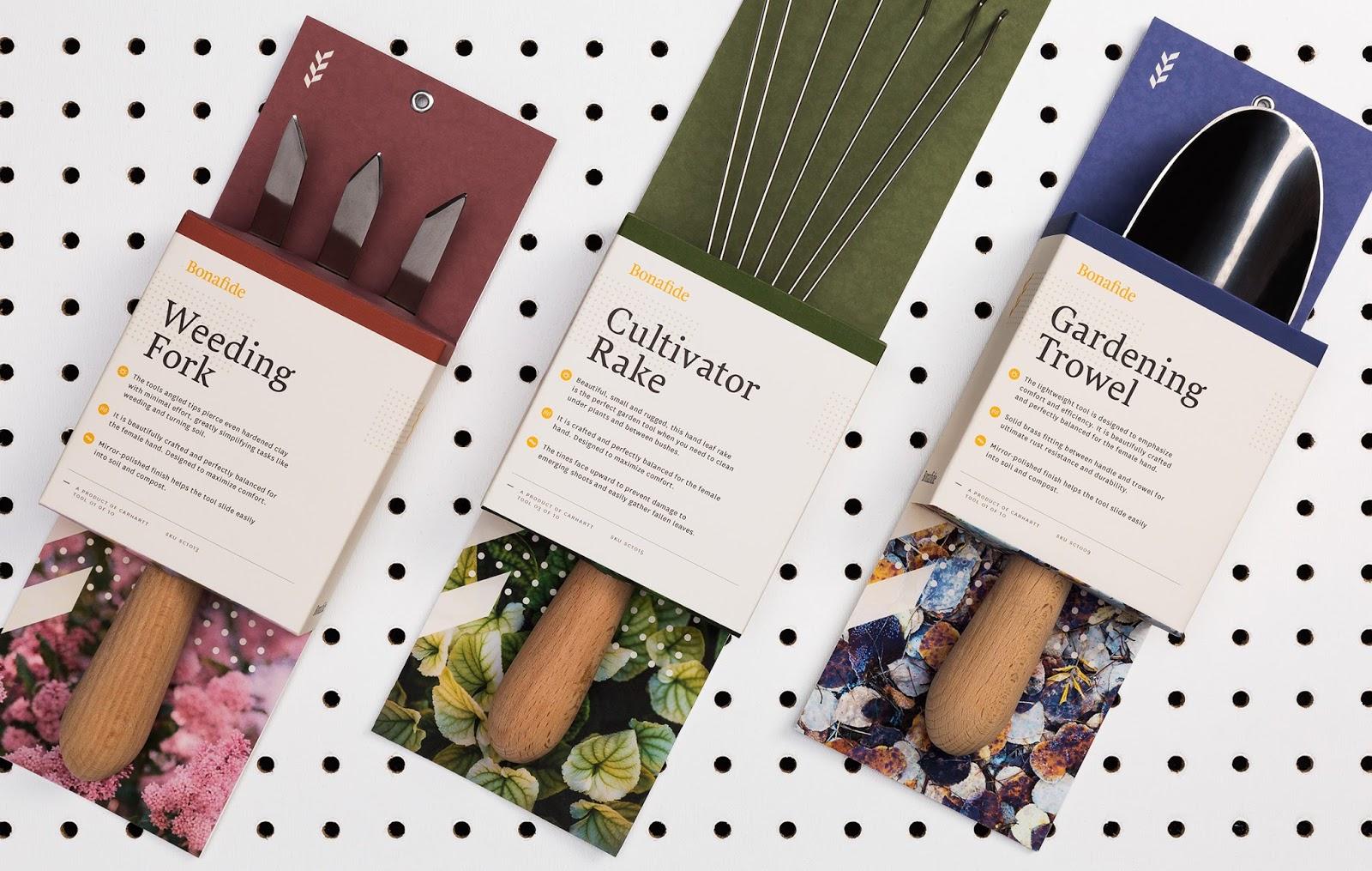 Bonafide garden tools student project on packaging of for Garden design equipment