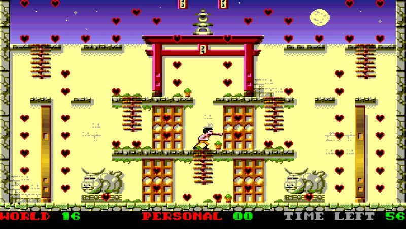 Indie Retro News: Love Dungeon - A new Amiga take on Bruce Lee by