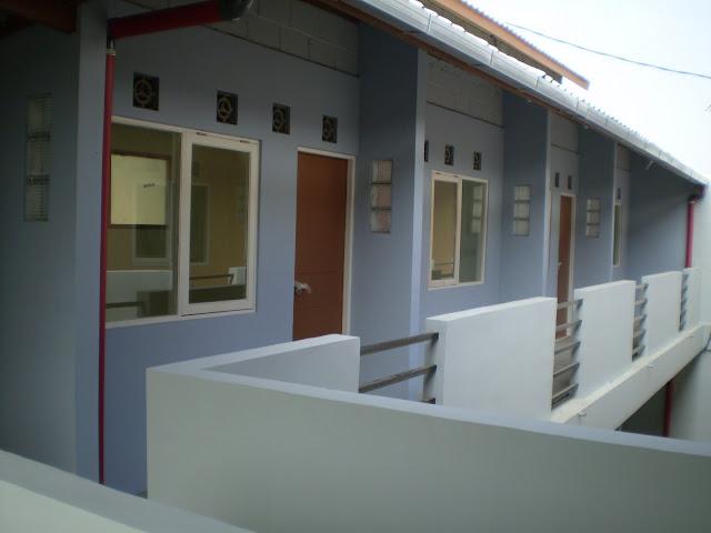 Desain Rumah Kost 10 Kamar