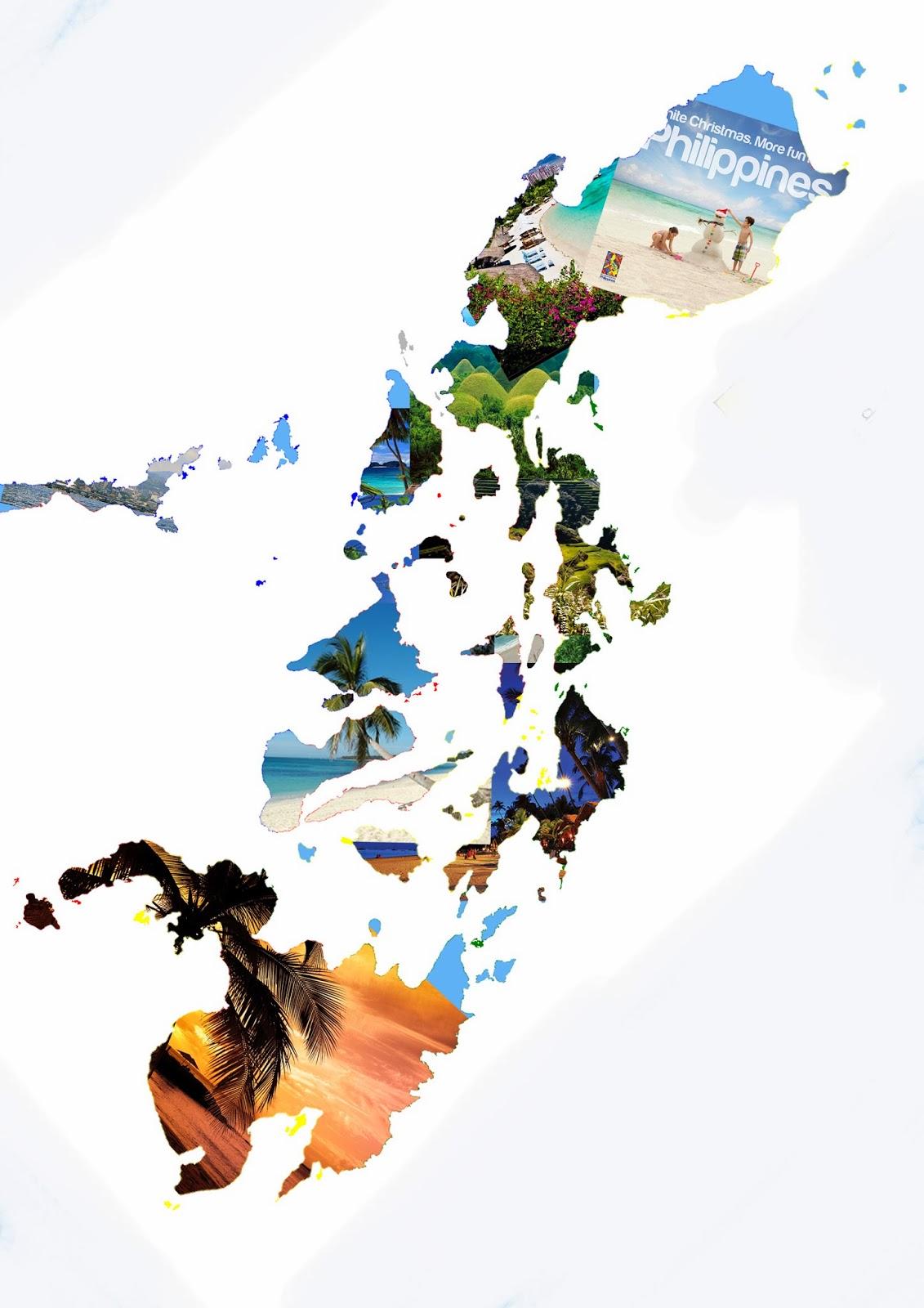 philippinene kart Eiryll .T   Trykk og Foto: Kollasj av Philippinene philippinene kart