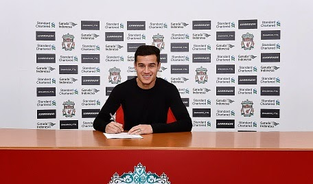 Philippe Coutinho seals new Liverpool deal