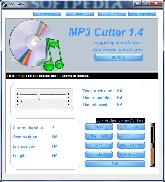 تحميل برنامج قص الاغاني وصانع النغمات Download MP3 Cutter