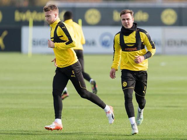 Dortmund Tak Mau Ambil Resiko dengan Kondisi Goetze