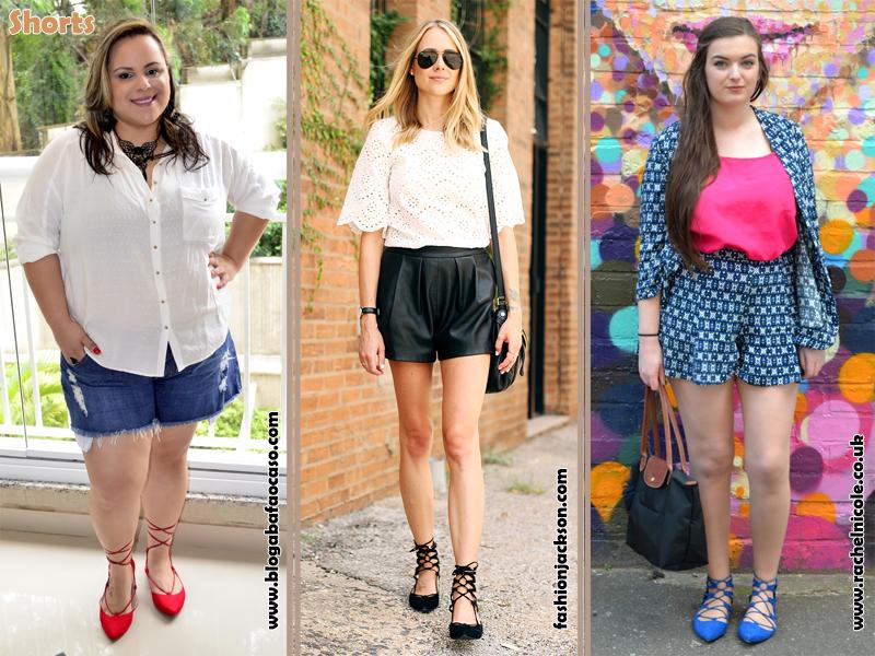 Como usar sapatilha lace up, Flats, Shoes, Sapatos, Sapatilhas de amarrar, Look, shorts, Estilo, Moda, Fashion, Tendência