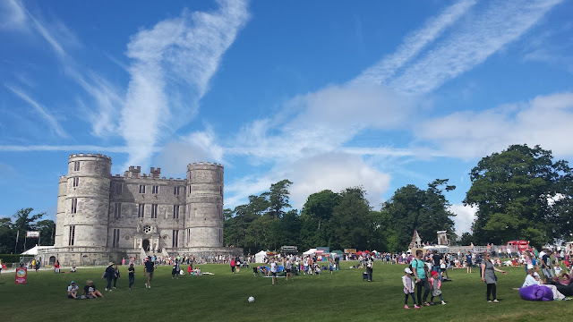 Lulworth castle Camp Bestival Dorset
