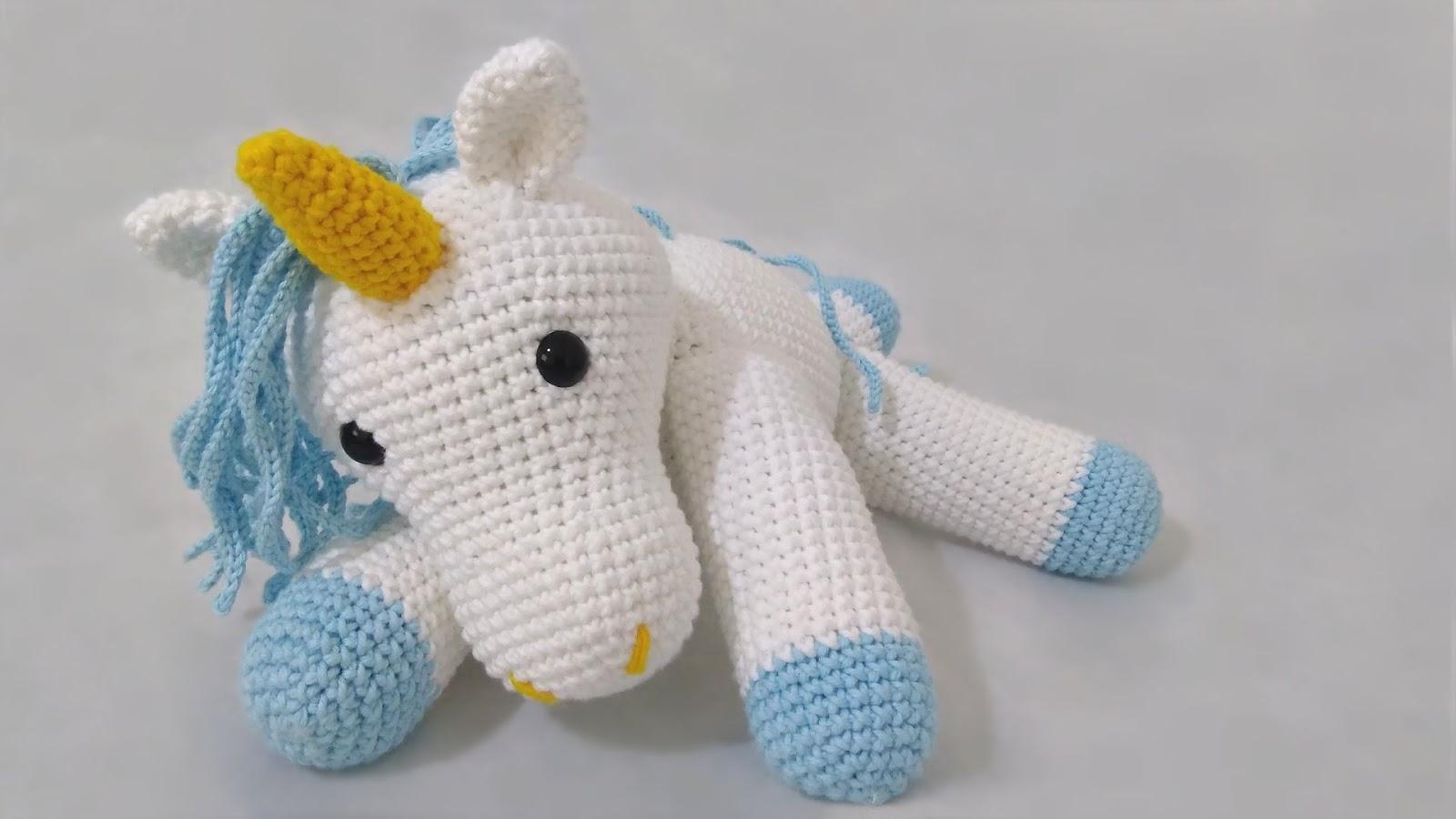 Amigurumi, DIY Unicornio Pinky Parte 2 amigurumi crochet.ganchillo ... | 900x1600