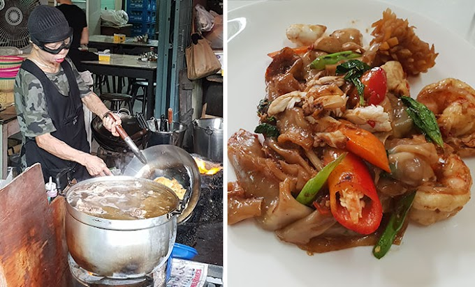 I Went To Bangkok Just To Try This 70+ Year Old Chef's Street Food Which Received A Michelin Star