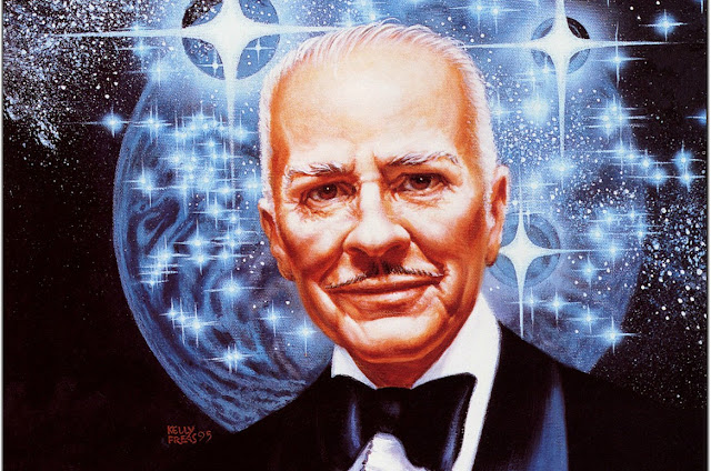 Robert A. Heinlein por Frank Kelly Freas