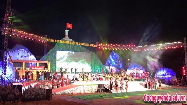 Lễ hội hoa Tam Giác Mạch lần thứ IV tại Hà Giang