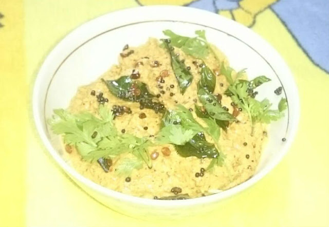 mint coconut chutney for rice
