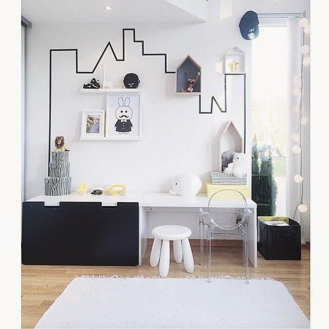 ideas para decorar paredes del dormitorio infantil