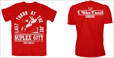Last Throw At The Joe WWE T-Shirt