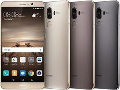 Spesifikasi Huawei Mate 9                      Kotak penjualan Huawei Mate 9 sangat elegan dengan balutan warna hitam. Bukan cuma kotak yang menjanjikan, isi di dalamnya pun tergolong lengkap. Selain smartphone, manual book, charger, kabel data, dan earphone, Huawei juga menyertakan antigores dan casing tipis yang berkualitas.          Layar jumbo dan tajam. Buat yang hobi nonton atau main game, Anda bakal puas dengan Mate 9 karena punya layar yang besar. Dimensi besar ini juga dibarengi dengan kualitas yang sangat baik. Padahal resolusinya belum QHD, alias masih Full HD, serta kedalamannya hanya 373 ppi. Tapi kami merasakan layarnya sudah seperti menggunakan resolusi QHD, sangat tajam dan terang.                Satu lagi yang paling sukai dari Huawei Mate 9 adalah kemampuan baterainya yang luar biasa. Mengandalkan kapasitas 4.000 mAh, rata-rata scree-on-time yang dihasilkan yakni enam jam. Sementara untuk penggunaan harian bahkan bisa bertahan dua hari. Baterai ini juga bisa diisi dengan cepat karena ada teknologi Supercharge.    Kelebihan   Dual SIM card.    Konektivitas 4G LTE.    Layar lebar 6.0 inci.    Resolusi 1440 x 2560 pixels (490 ppi).    Dilengkapi fingerprint sensor    Dilengkapi Gorilla Glass 4.
