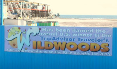 TripAdvisor Traveler's Award for Wildwood New Jersey