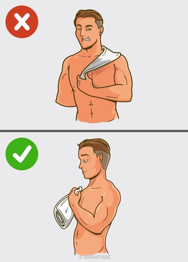5 erros que fazemos todos os dias ao tomar um banho