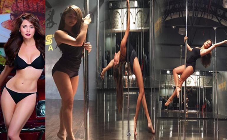watch pole dancing of Jessy Mendiola