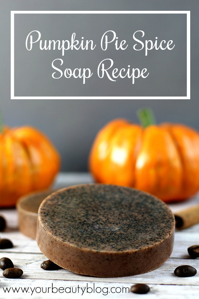 pumpkin pie spice melt and pour soap recipe