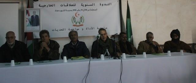 Sahara Occidental : Los diplomáticos saharauis en cónclave en una base militar