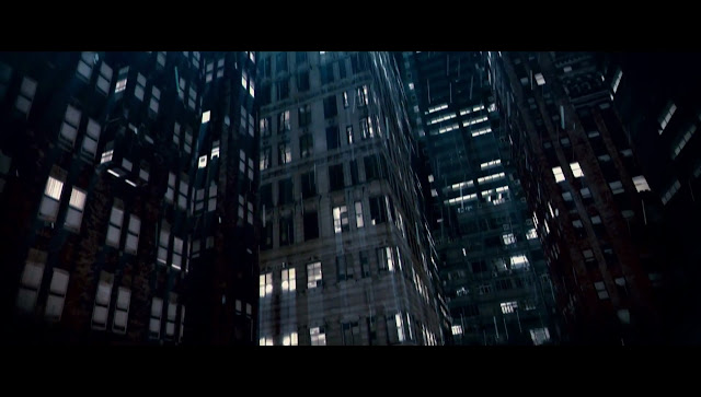 The Dark Knight Gotham Buildings Wall
