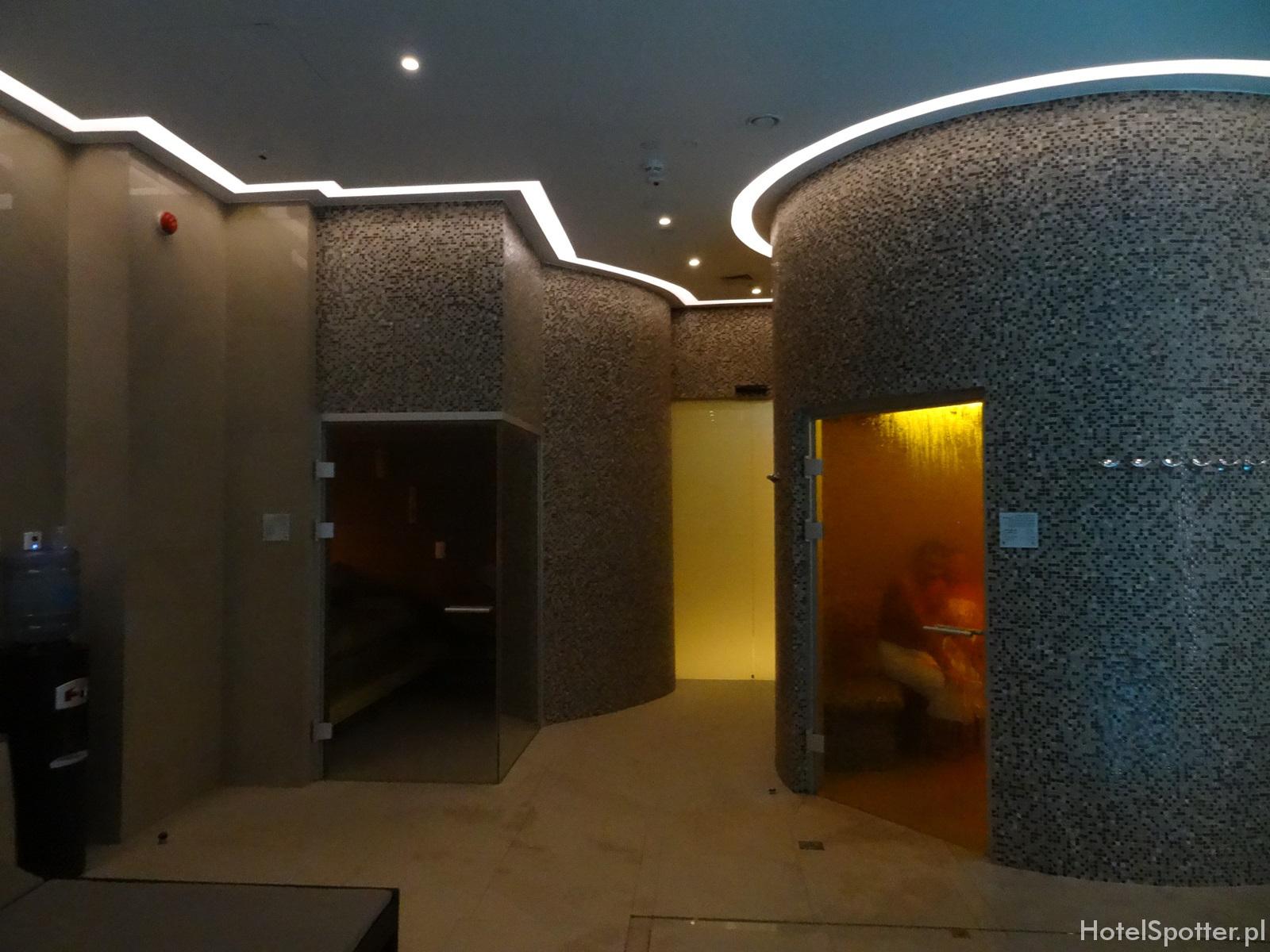 DoubleTree by Hilton Warsaw - laznie i sauny w spa