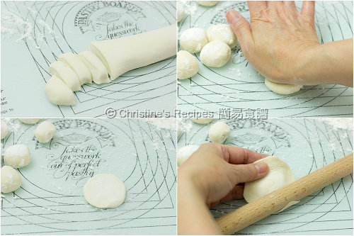 餃子皮製作圖 How To Make Dumpling Wrappers